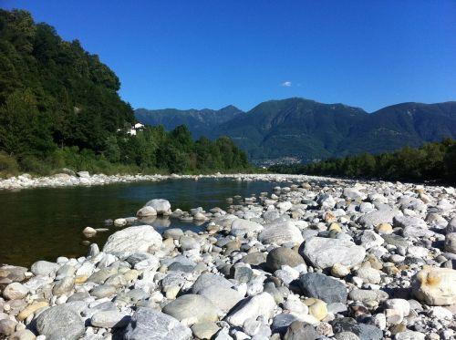 ticino river stones