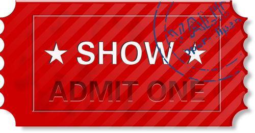 ticket entry admit one