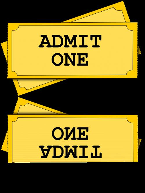 ticket movie admission