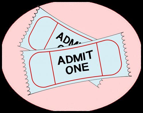 tickets admit admission
