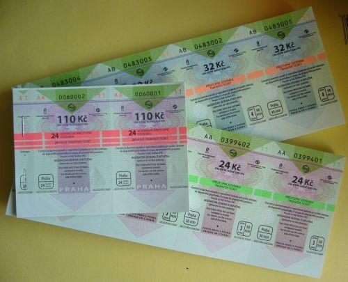 tickets transport travel