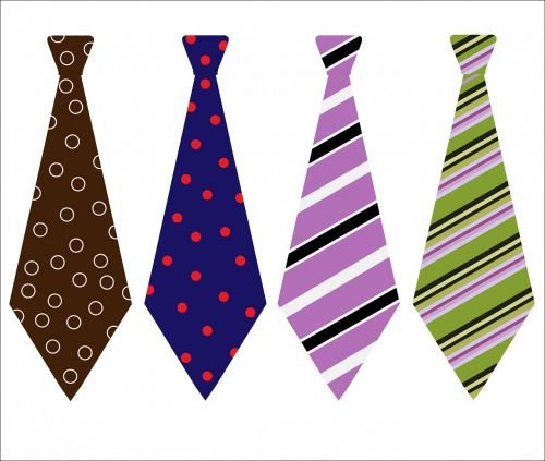 tie ties patterned