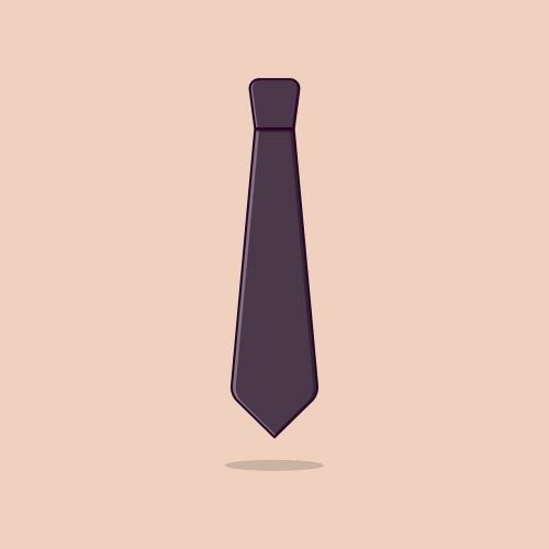 tie businessman icon