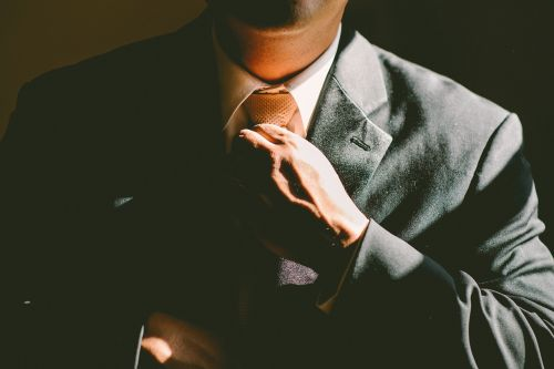 tie necktie adjust
