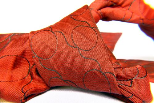 tie tie knot red tie