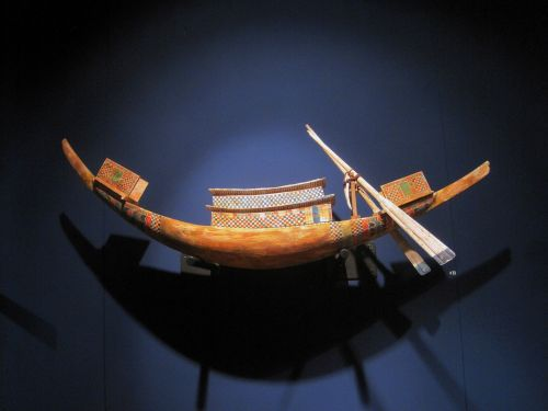 Tiered Egyptian Nile Vessel