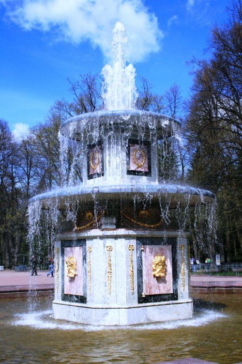 Tiered Fountain, Peterhof