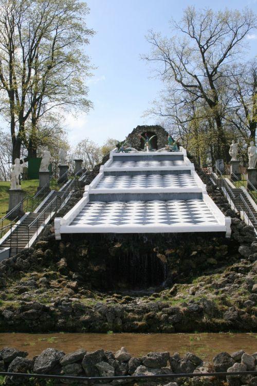 Tiered Water Fountain, Peterhof