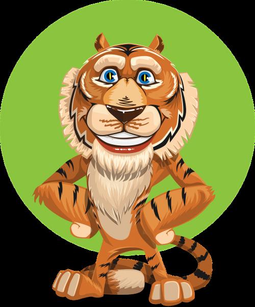 tigras,gyvūnas,šypsosi,mielas,žavus,draugiškas,kailis,mielas,paw,saldus,žavinga,jaunas,Patinas,mielas tigras,juokinga,laimingas,žaismingas,linksma,džiaugsmas,laimė,linksmas,išraiška,malonumas,šypsena,nemokama vektorinė grafika