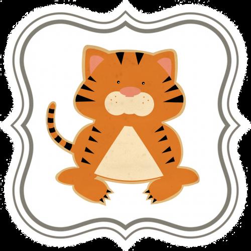 tiger kids animal