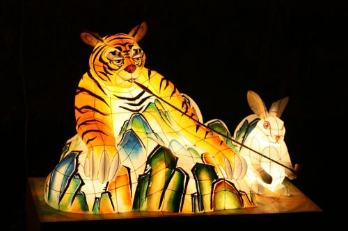tiger lantern festival cheonggyecheon stream