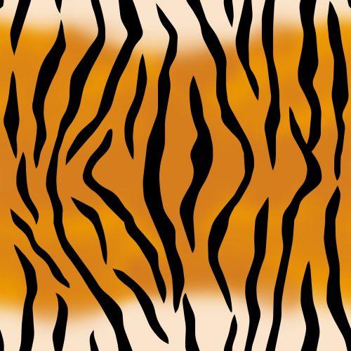 Tiger Pattern Seamless