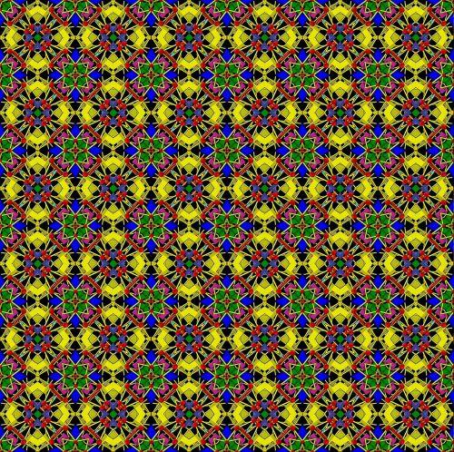 tile background image ornament