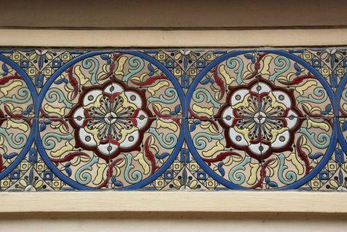 tile art nouveau nouveau
