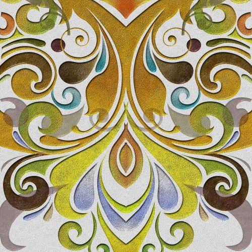 tile baroque background