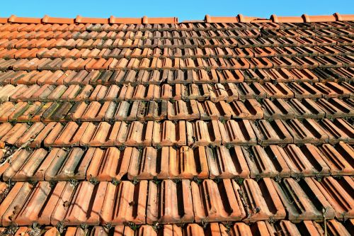 tile roof red