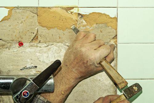 tile renovation water room