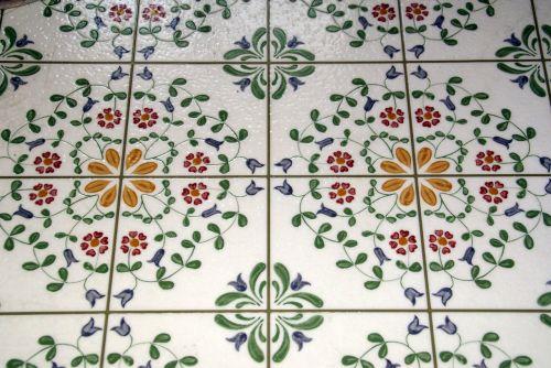 tile geometric background