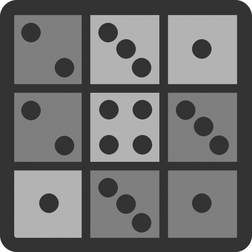 tile domino dots