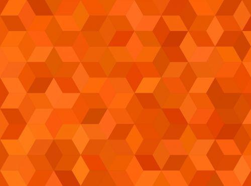 tile orange pattern