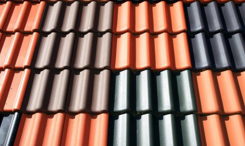 tile,roofing tiles,roof,house roof,brick,roofing,structure,intense colours,free photos,free images,royalty free