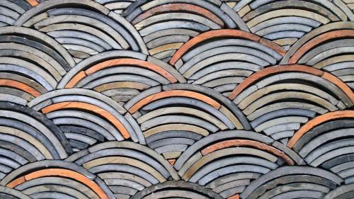 tile organization exterior materials