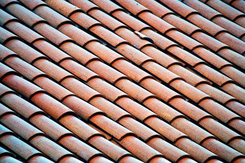 Tile Roof Background