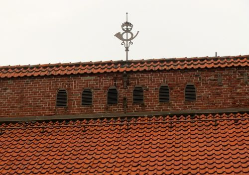tiled roof roof building