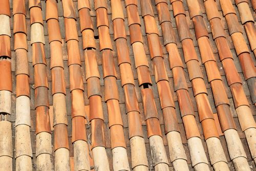 tiles roofing terracotta