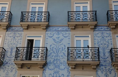tiles portuguese windows portugal