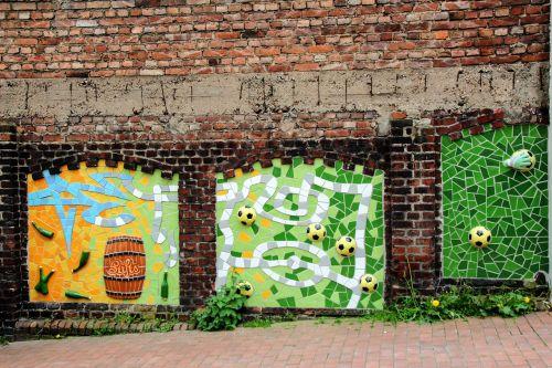 tiles colorful wall