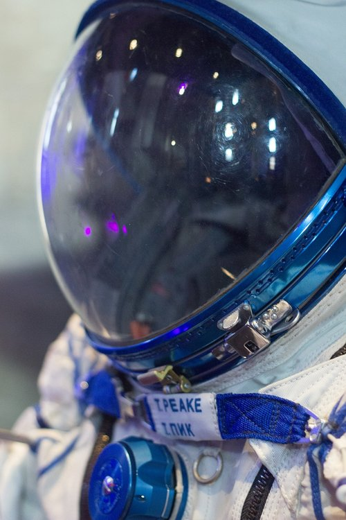 tim peake  uk  space suit