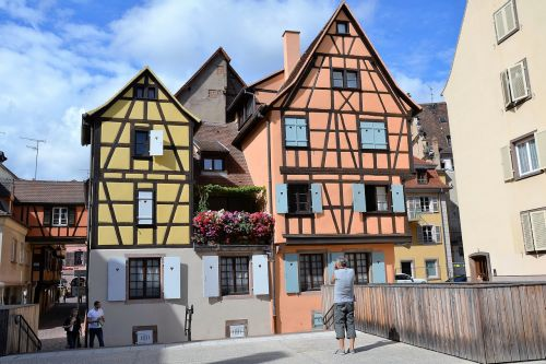 timber-framed house colmar