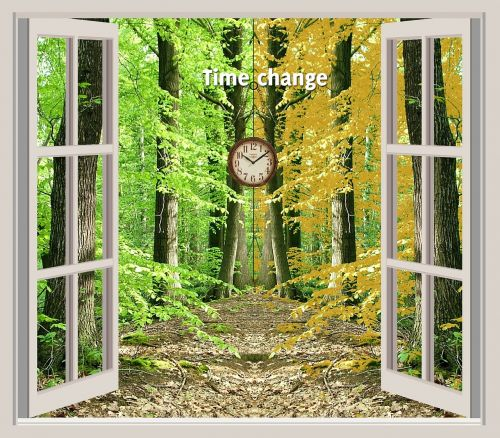 time summer fall