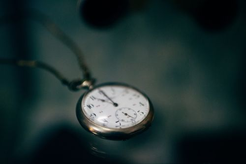 time pocket watch clock