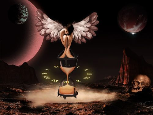 time angel the hourglass