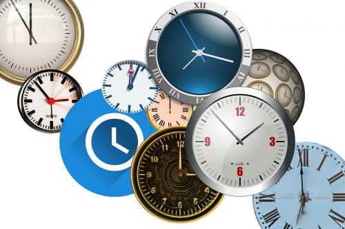 time clock watches
