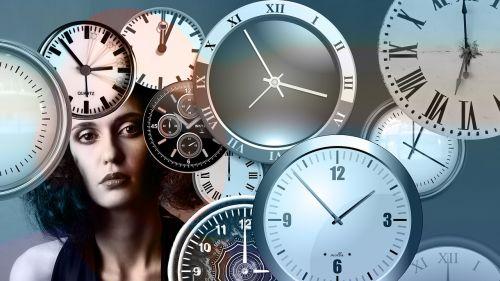 time clock head