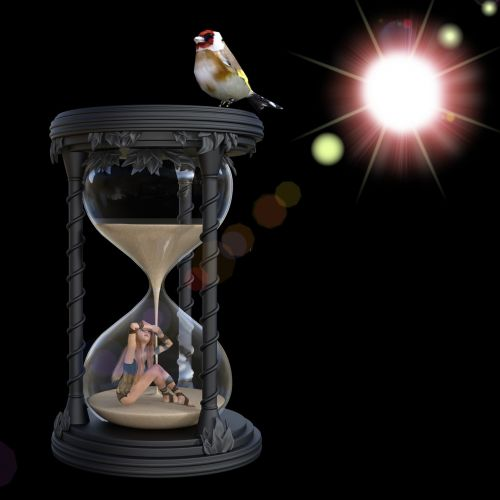 time hourglass measurement of time