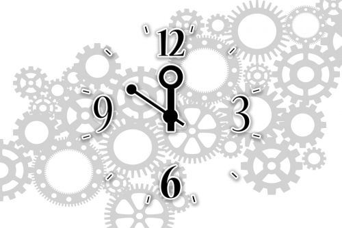 time mechanics gear