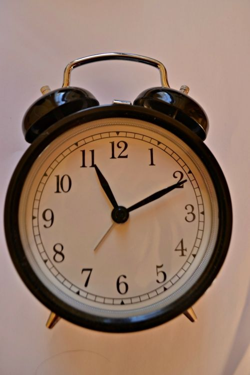 time clock ringing