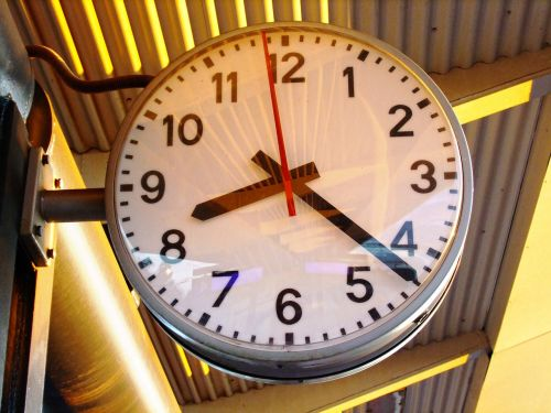 time hour s passage of time