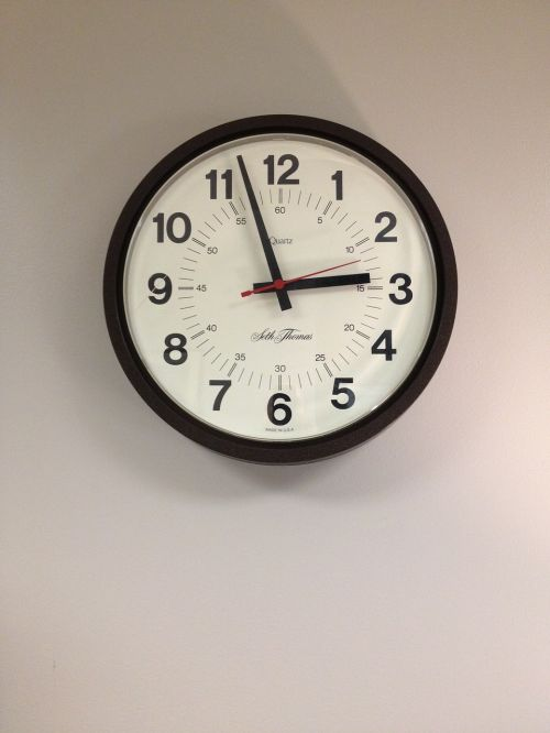 time clock minute