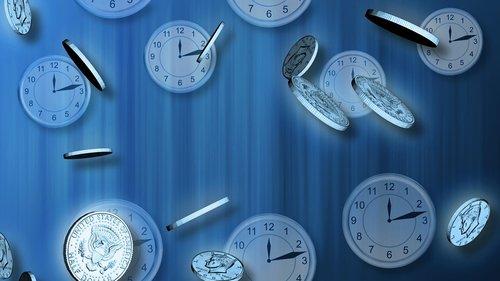 time  clock  watch