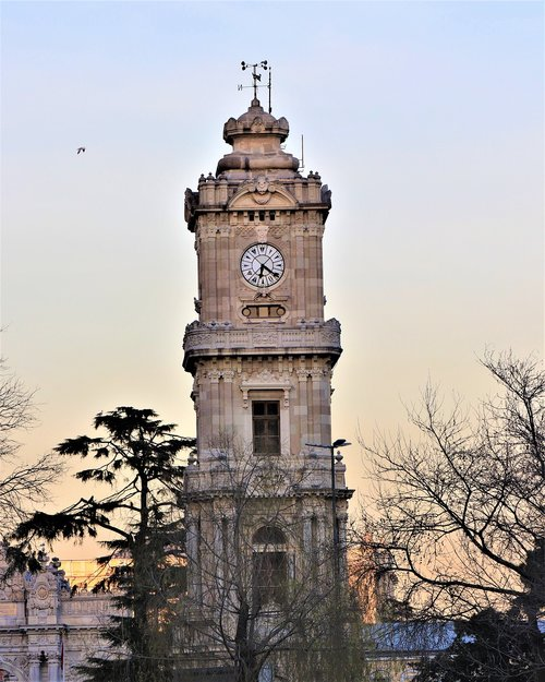 time  tower  old