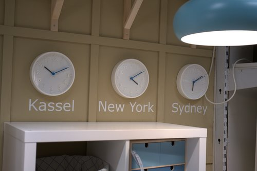 time  clock  office