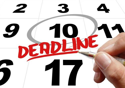 time levy deadline