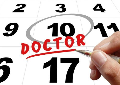 time doctor doctor's appointment