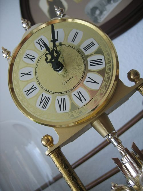 time time indicating clock