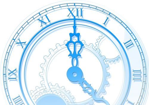 time clock abstract